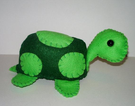 Green Turtle Plushie