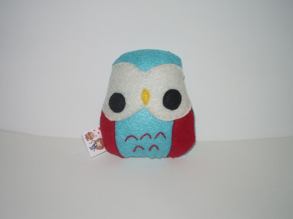 Made to Order Kawaii Owl Plushie Choose Your Colors