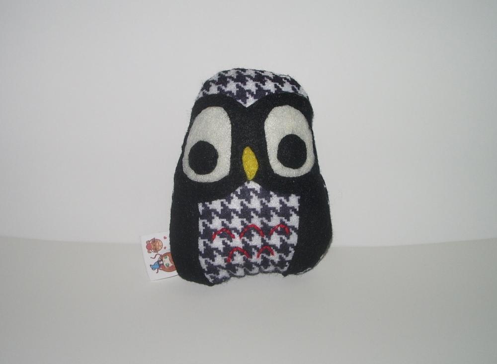 Hipster Owl Plushie